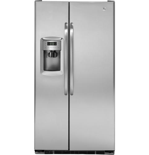 GE® 22.7 Cu. Ft. Side-By-Side Refrigerator with Dispenser