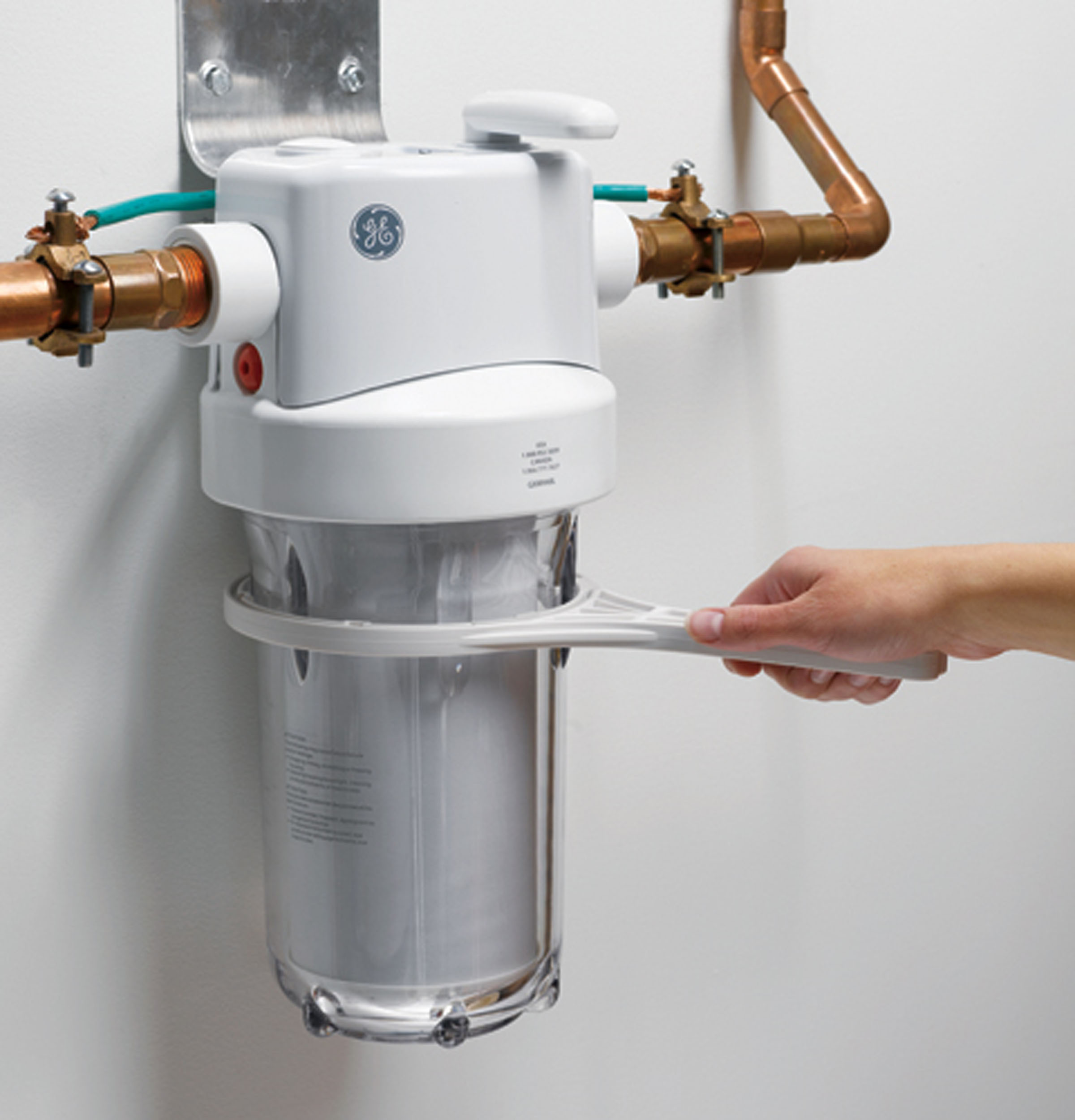 Home Water Filter System Gxwh40l Whole Home Water Filtration System Ge Parts