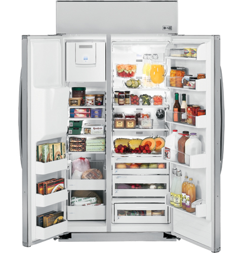Ge Profile Series 42 Quot Built In Side By Side Refrigerator