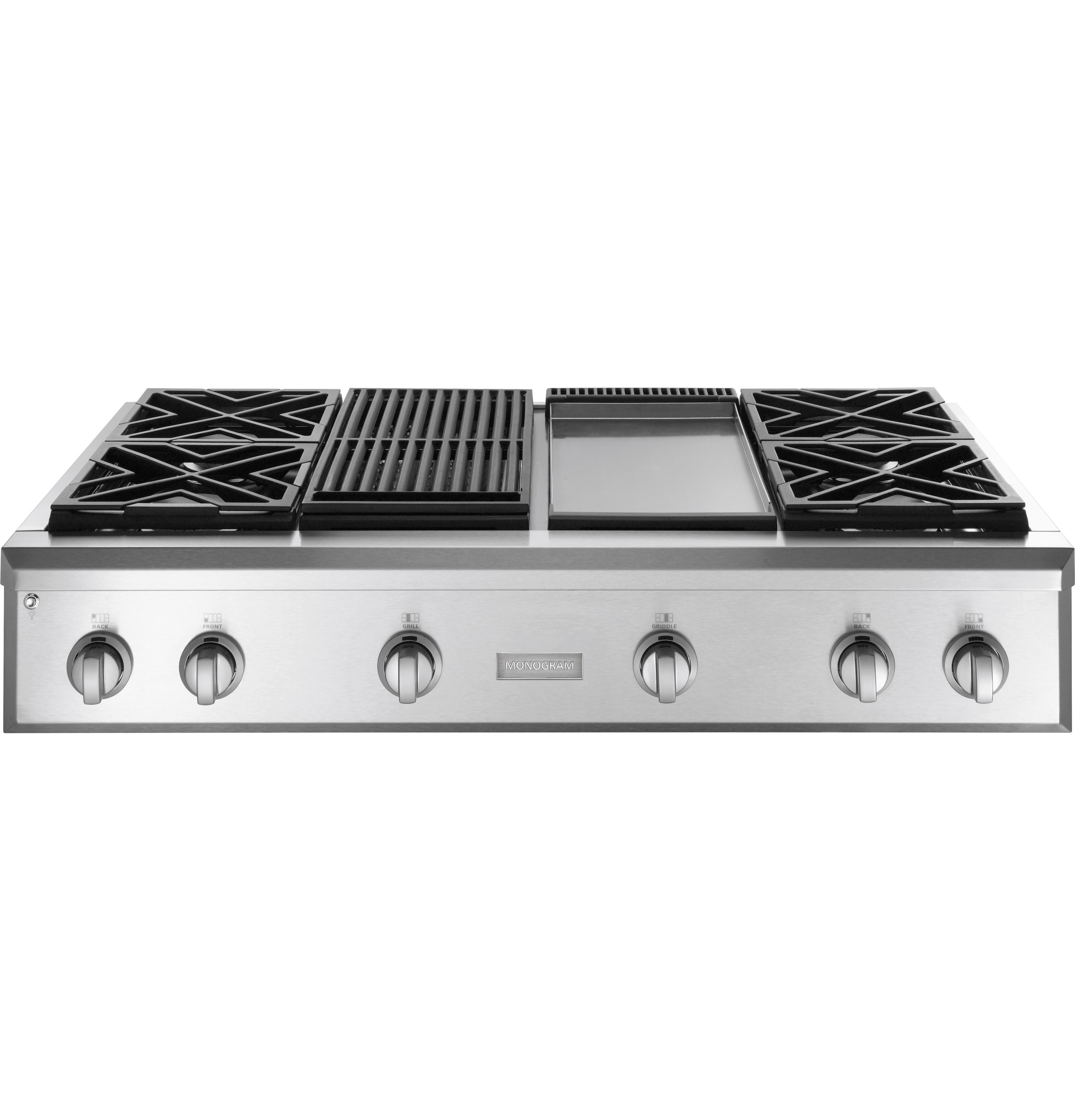 Ge Monogram 174 48 Quot Professional Gas Rangetop With 4 Burners