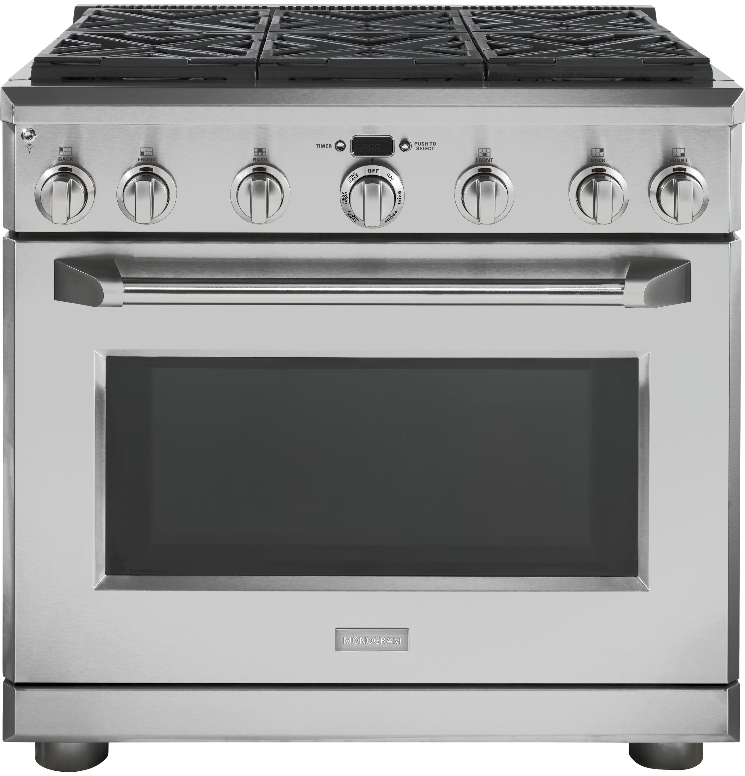 Monogram 36 All Gas Professional Range With 6 Burners