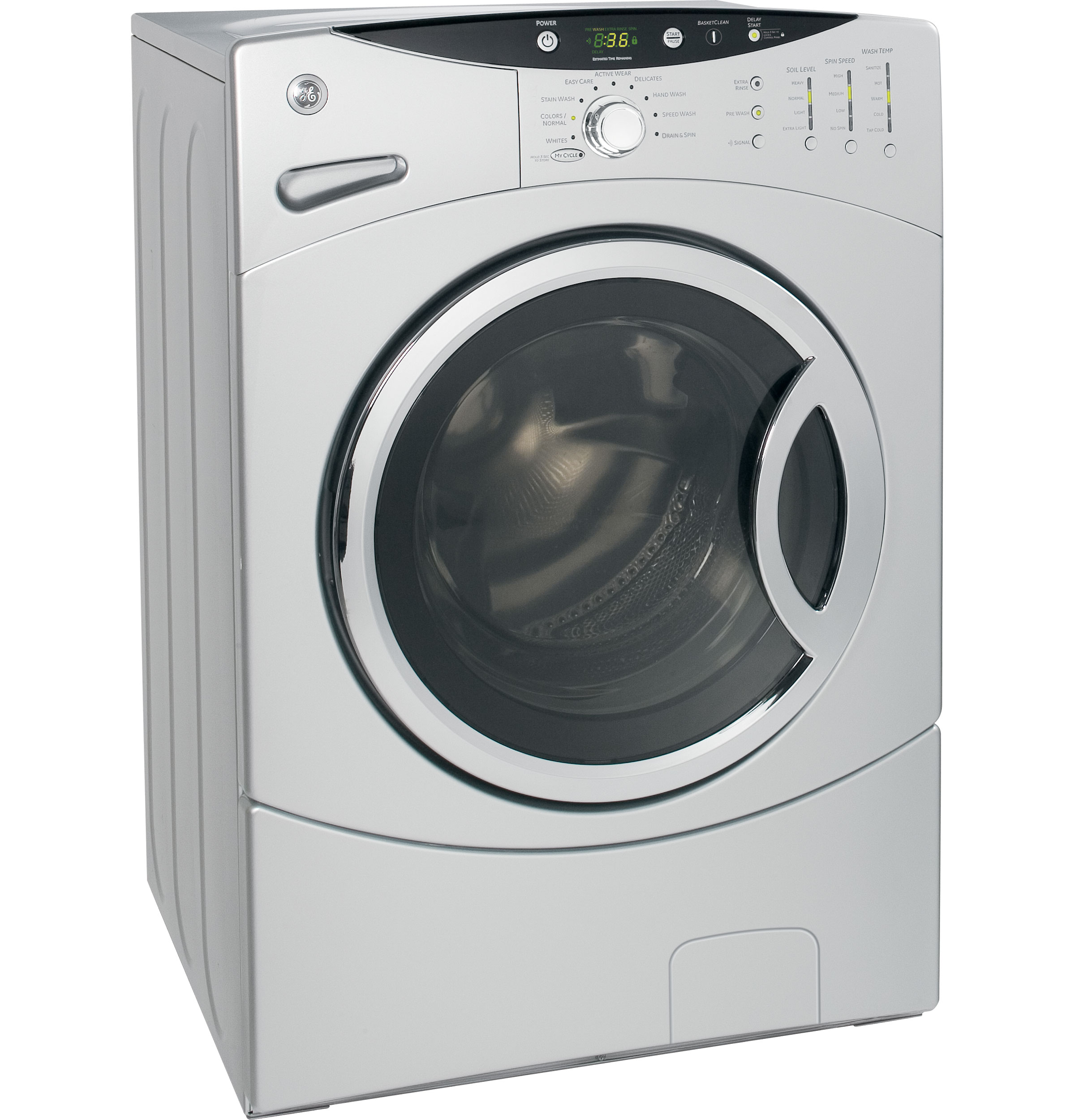 Ge energy star 3 5 doe cu ft capacity frontload washer for 5 star energy