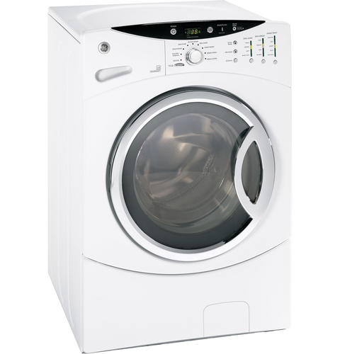GE® ENERGY STAR® 3 5 DOE Cu  Ft  Capacity Frontload Washer with