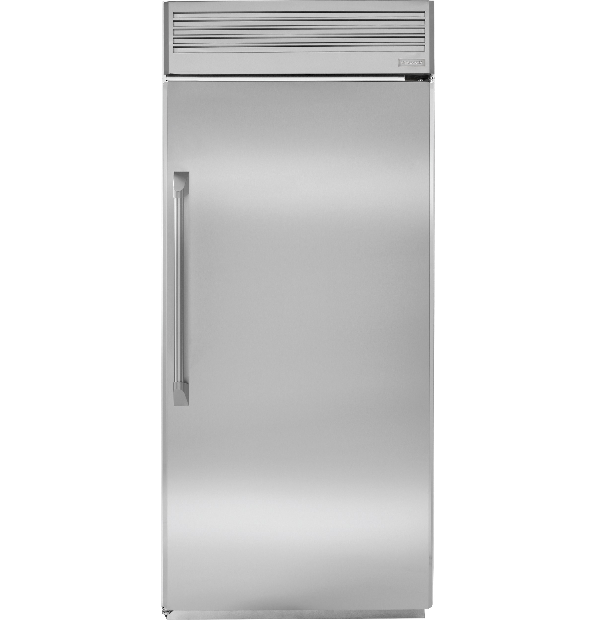 36 Refrigerators Zifp360nhrh Monogram 36 Professional Built In All Freezer