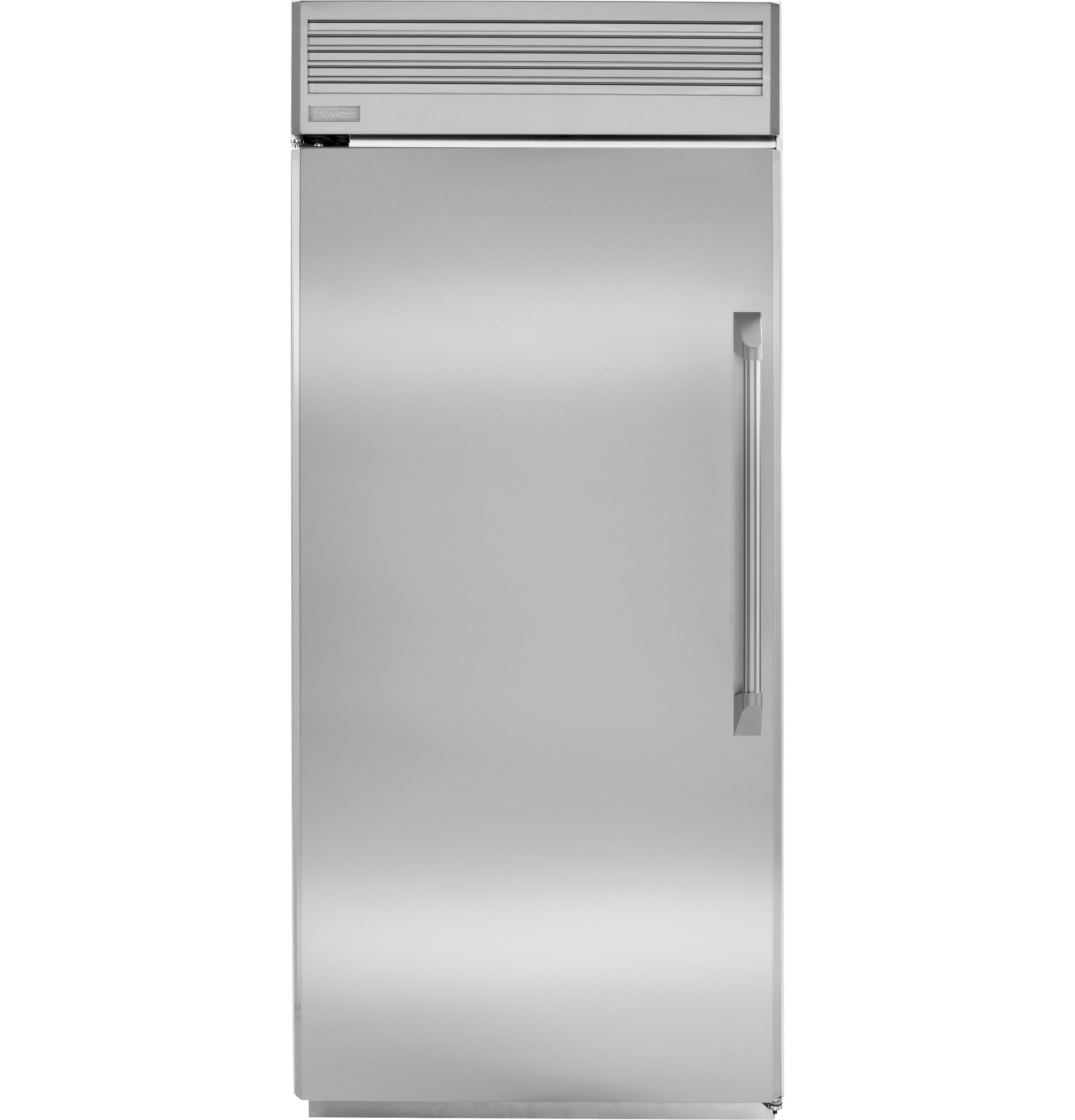 36 Refrigerators Zirp360nhrh Monogram 36 Professional Built In All Refrigerator