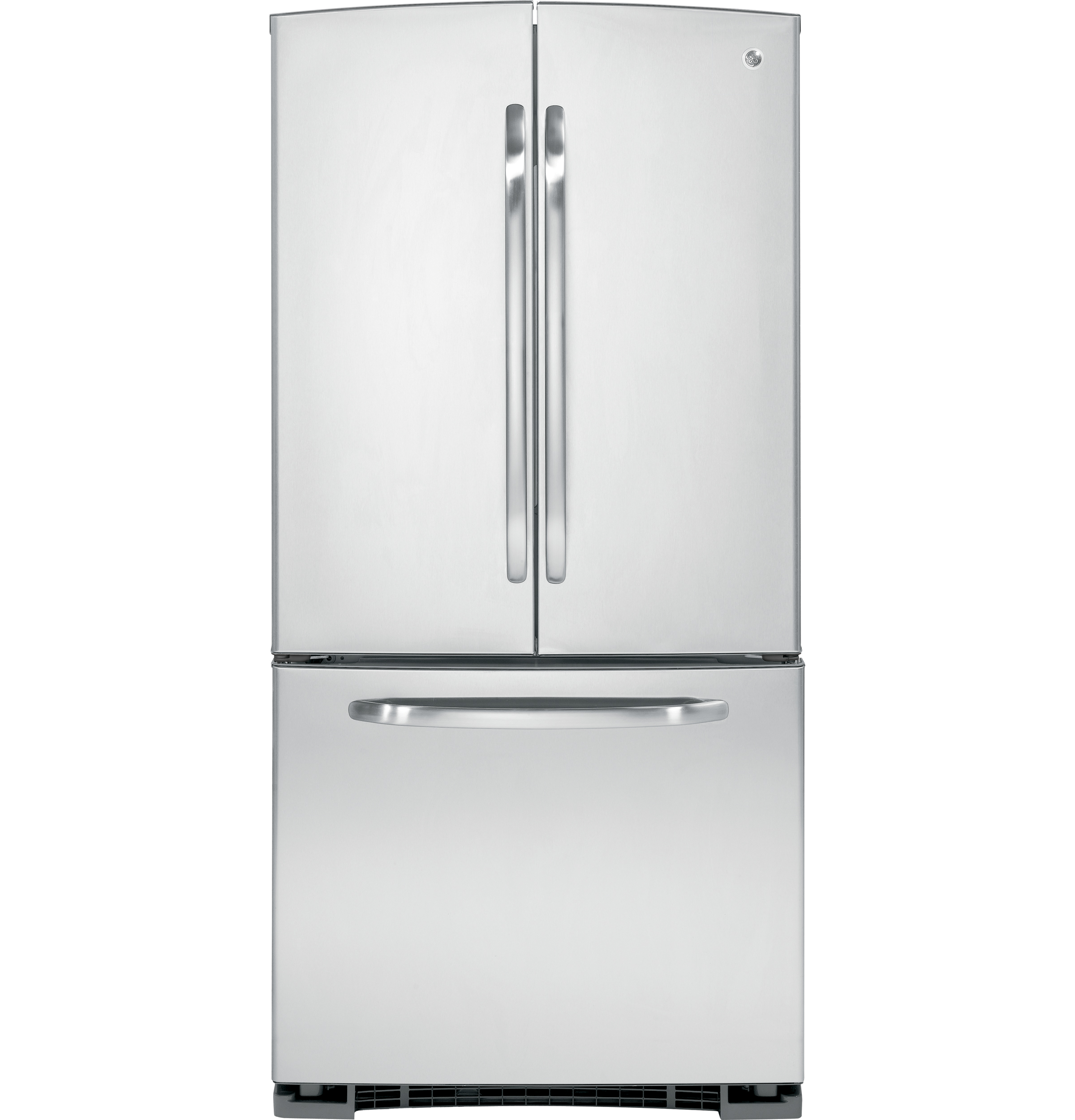 Ge energy star 220 cu ft french door refrigerator product image rubansaba