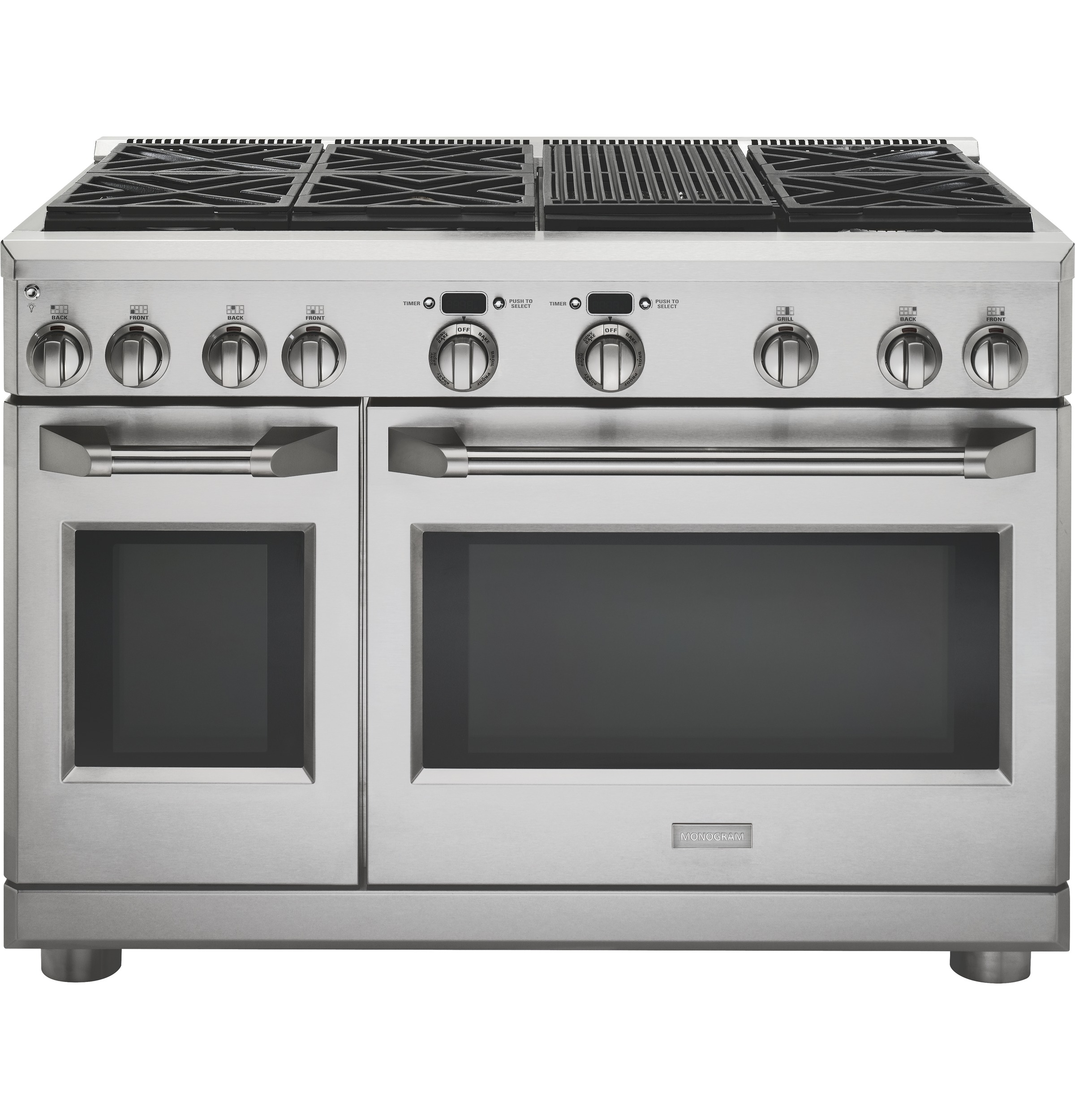Electric Stove With Grill ~ Monogram quot dual fuel professional range with burners