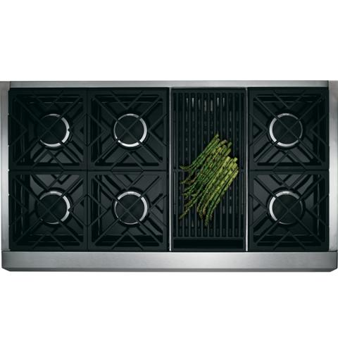 """Thumbnail of Monogram 48"""" Dual-Fuel Professional Range with 6 Burners and Grill (Natural Gas) 1"""