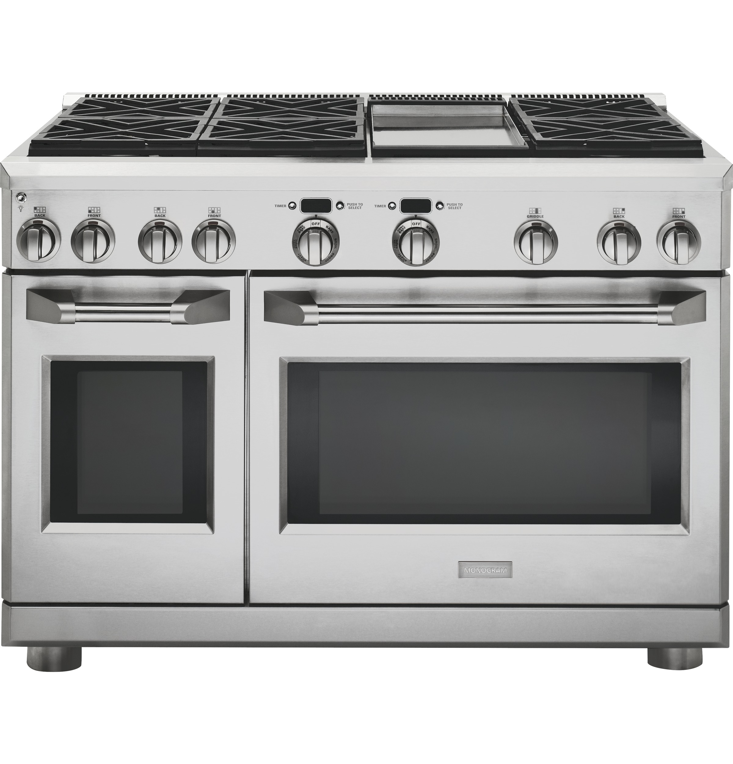 Monogram 48 Quot Dual Fuel Professional Range With 6 Burners