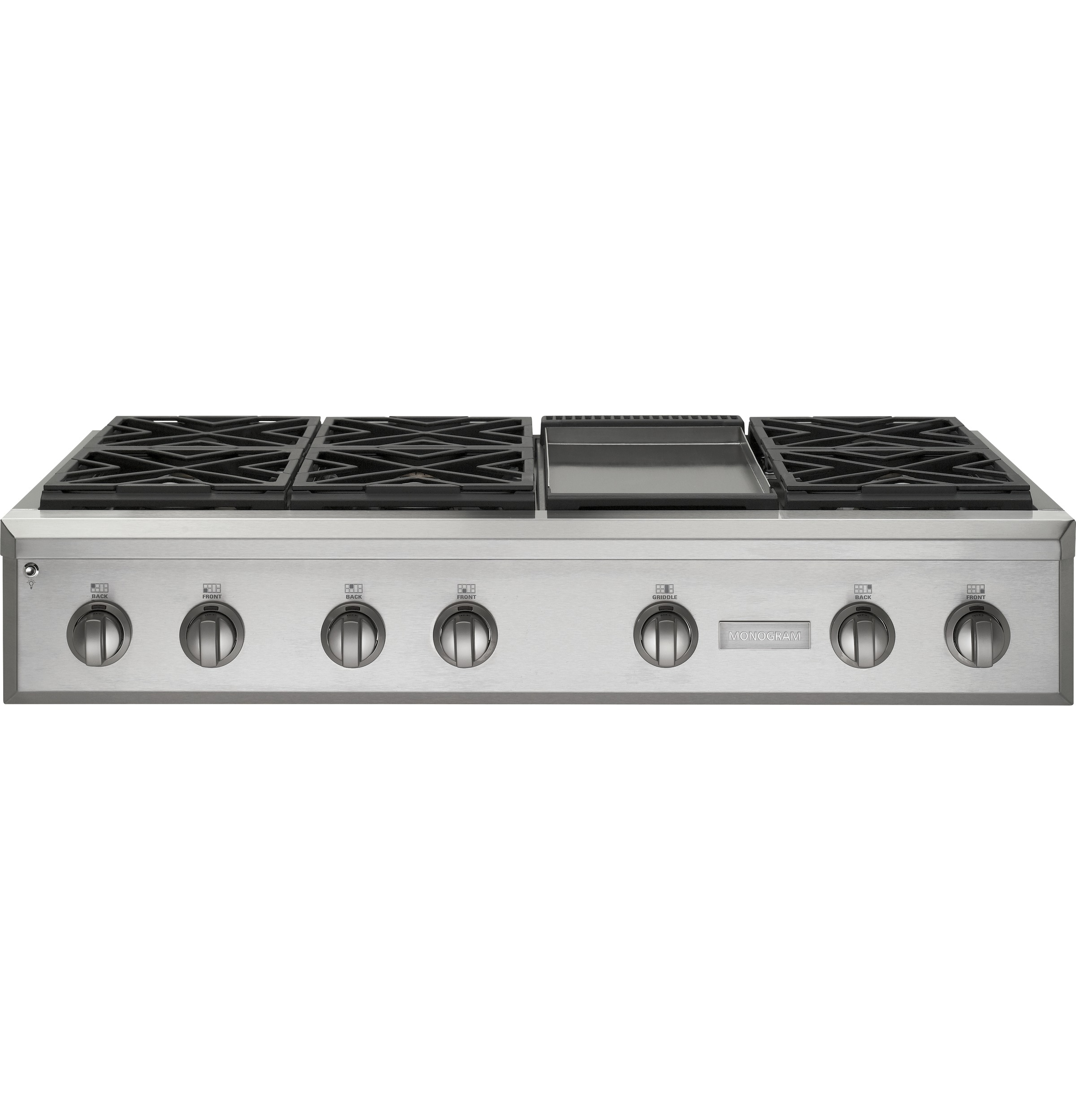 Ge Monogram 174 48 Quot Professional Gas Rangetop With 6 Burners