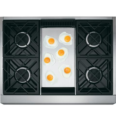 "Thumbnail of Monogram 36"" Professional Gas Rangetop with 4 Burners and Griddle (Natural Gas) 1"
