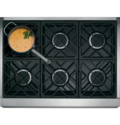 "Thumbnail of Monogram 36"" Dual-Fuel Professional Range with 6 Burners (Natural Gas) 2"