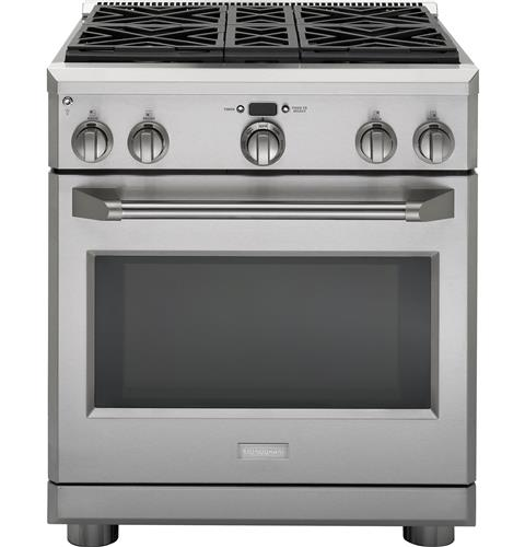 "Thumbnail of Monogram 30"" Dual-Fuel Professional Range with 4 Burners (Natural Gas) 0"