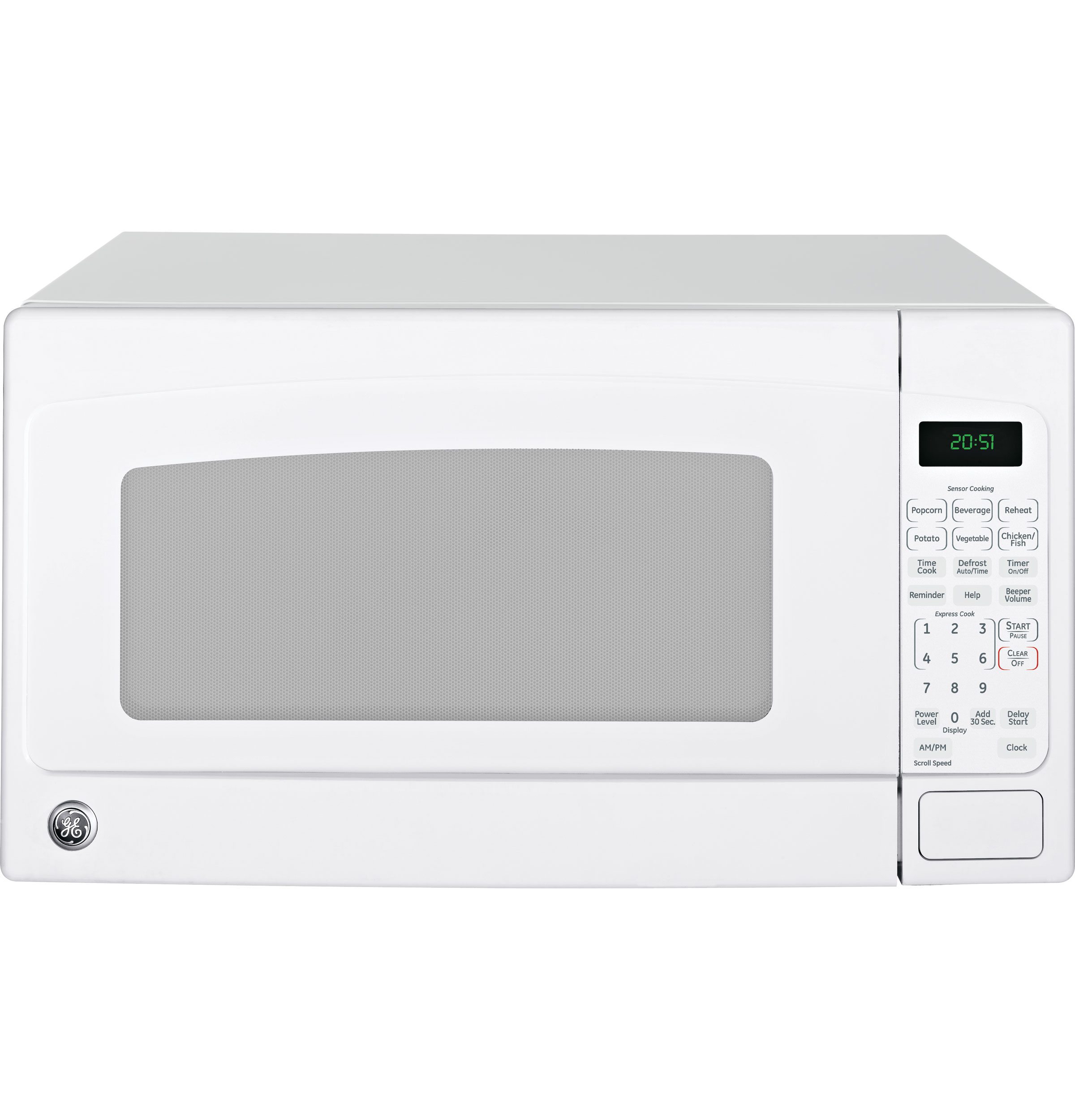 Countertop Dishwasher Ge : ... Ft. Capacity Countertop Microwave Oven JES2051DNWW GE Appliances