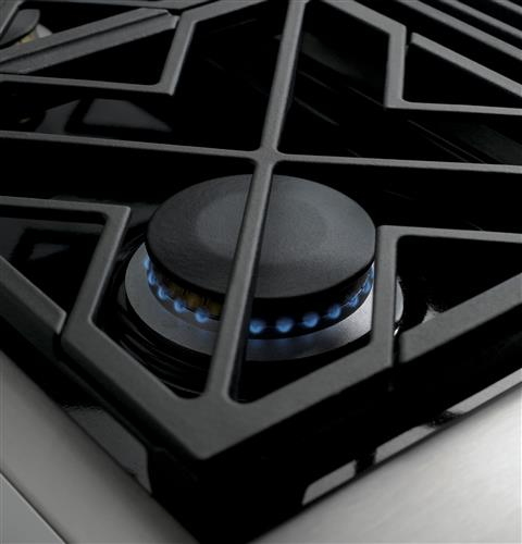 "Thumbnail of Monogram 48"" Professional Gas Rangetop with 6 Burners and Griddle (Natural Gas) 2"