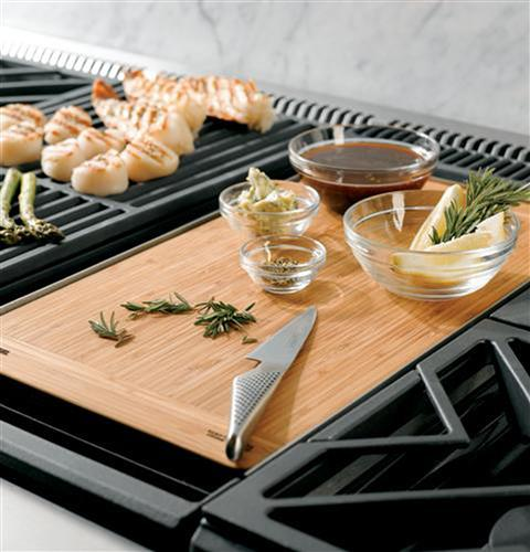 "Thumbnail of Monogram 48"" Professional Gas Rangetop with 6 Burners and Griddle (Natural Gas) 6"