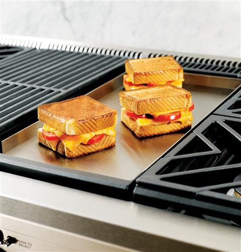 "Thumbnail of Monogram 48"" Professional Gas Rangetop with 6 Burners and Griddle (Natural Gas) 4"