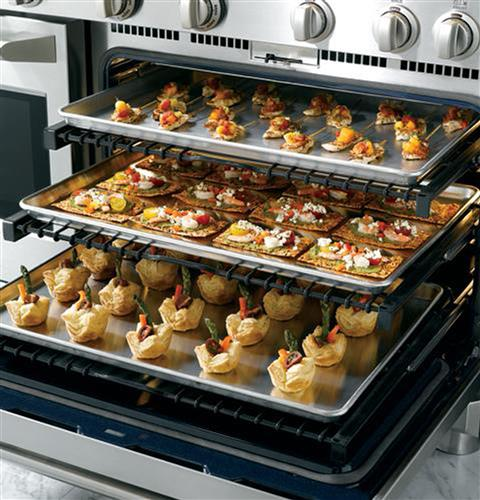 """Thumbnail of Monogram 48"""" Dual-Fuel Professional Range with 6 Burners and Griddle (Natural Gas) 9"""