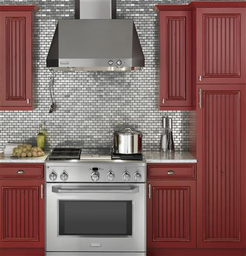 "Thumbnail of Monogram 36"" All Gas Professional Range with 4 Burners and Griddle (Natural Gas) 4"