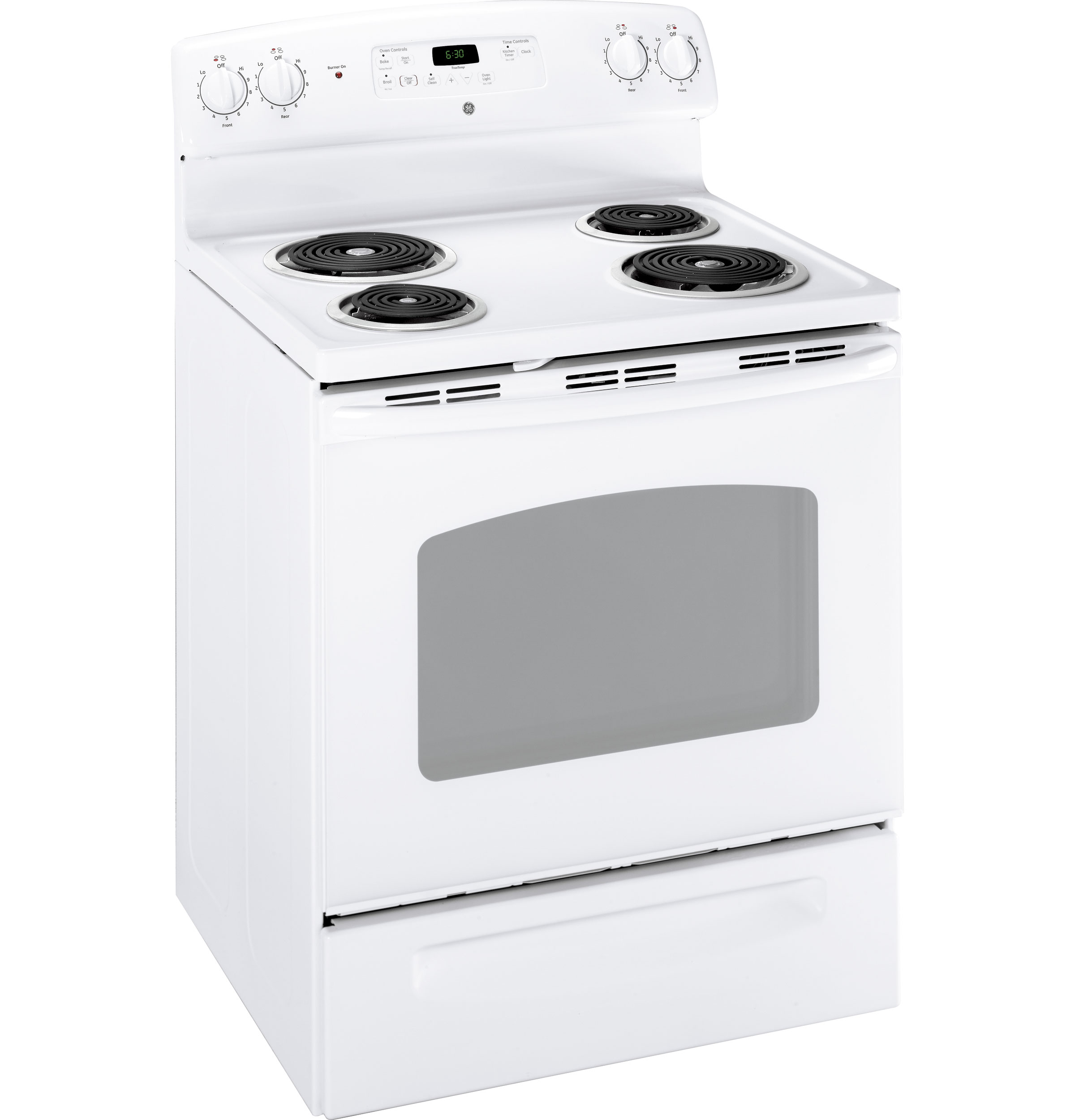 Ge Electric Stove ~ Ge quot free standing electric range jbp drww
