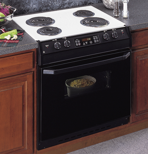 Ge 174 30 Quot Drop In Electric Range With Self Cleaning Oven And