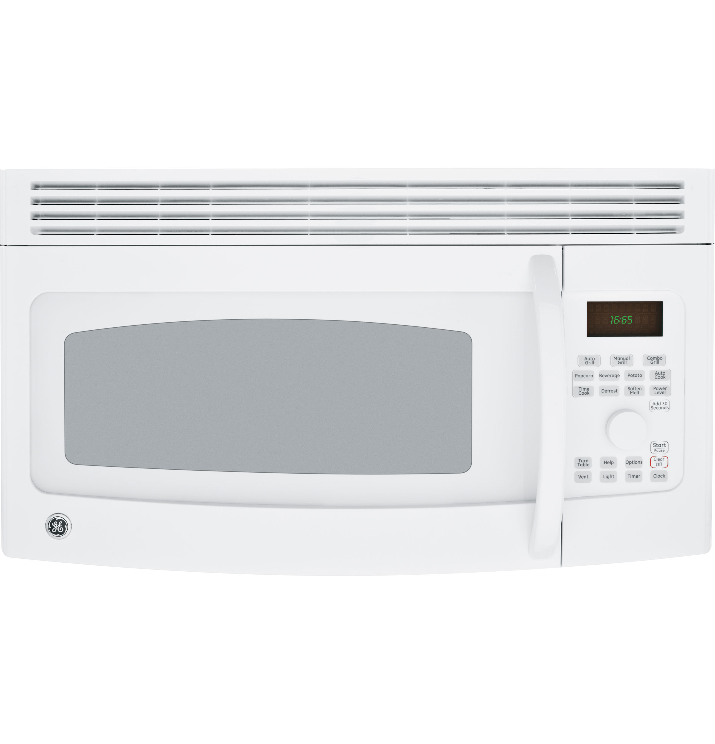 Ge Spacemaker 174 Grilling Over The Range Microwave Oven