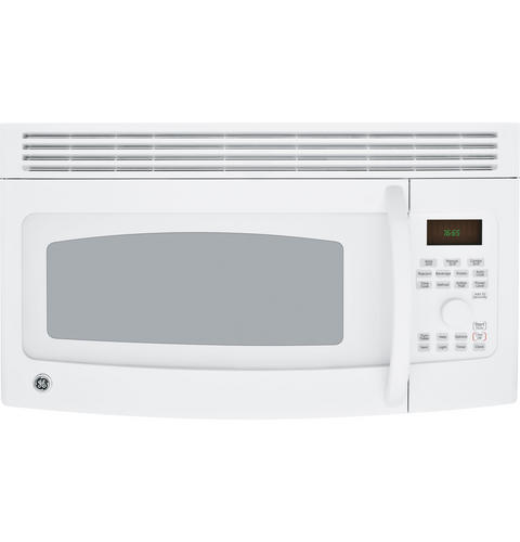 Jvm1665dnww ge spacemaker grilling over the range microwave oven monogram appliances - Red over the range microwave ...