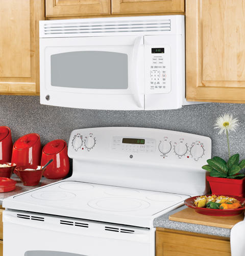 GE Spacemaker® Over-the-Range Microwave Oven | JVM1540DMWW ... on