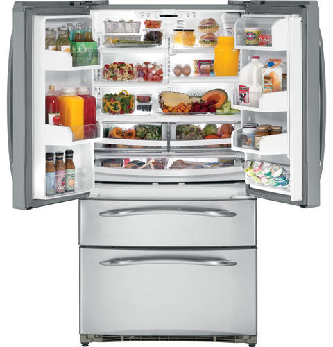 GE Profile™ 24.7 Cu. Ft. Refrigerator with Armoire Styling and Icemaker