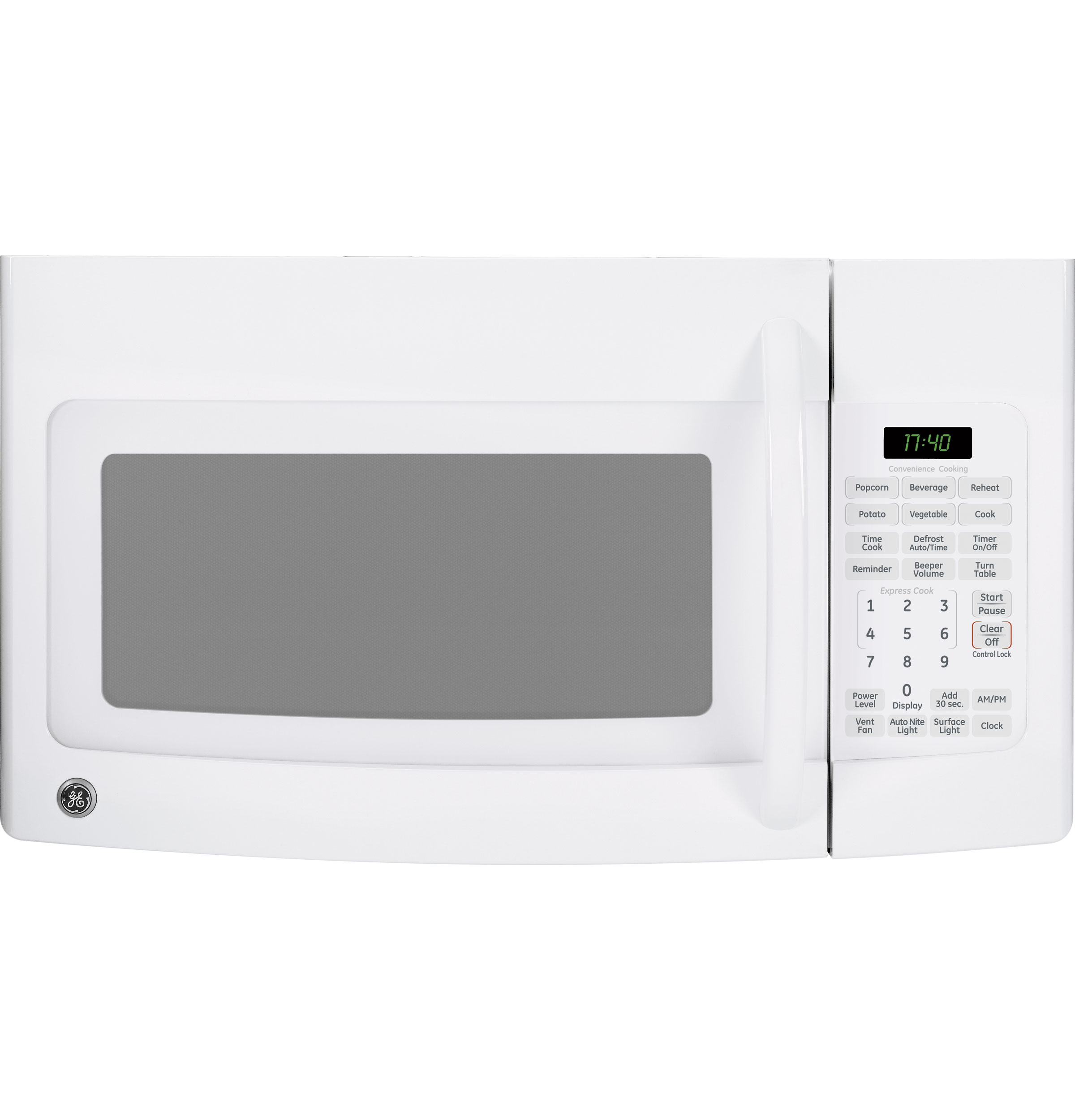 Ge Spacemaker 174 1 7 Cu Ft Over The Range Microwave Oven