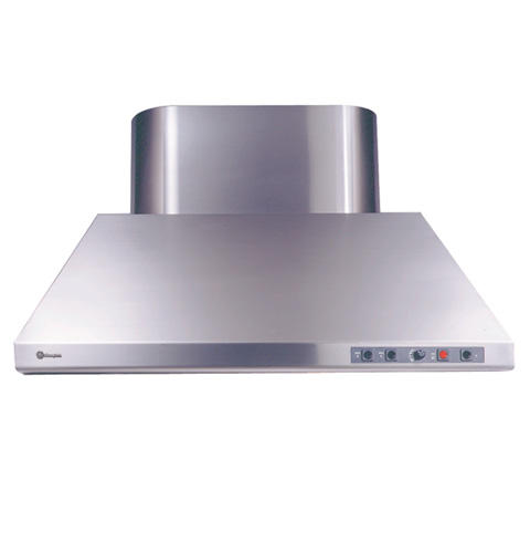 Zv881wss Ge Monogram 48 Professional Taper Sided Hood With 2 Infrared Warming Lamps And 2 Halogen Lamps Monogram Appliances