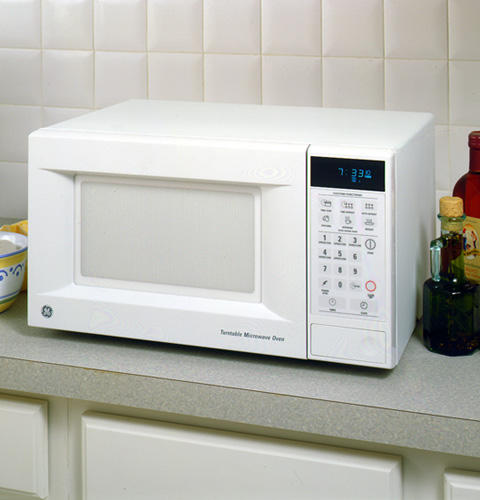 Ge 174 7 Cubic Foot Capacity Counter Top Microwave Oven