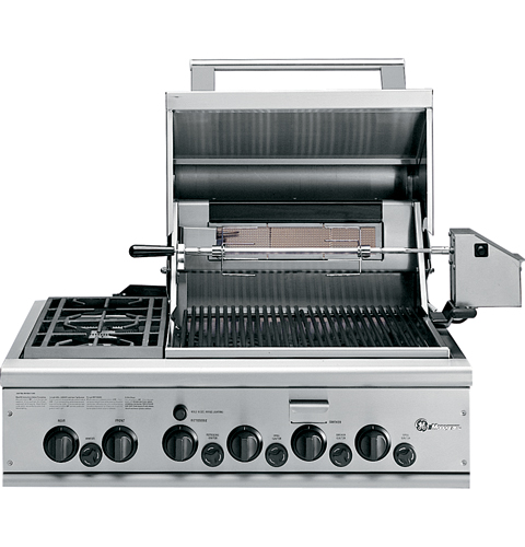 Ge Monogram 174 36 Quot Outdoor Cooking Center With 2 Grill