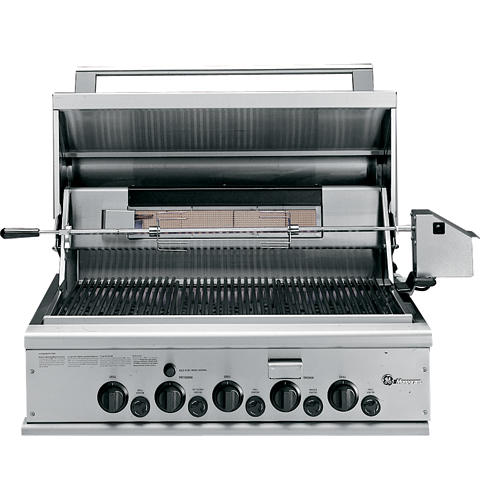 Zgg36n31css Ge Monogram 36 Outdoor Cooking Center With 3 Grill