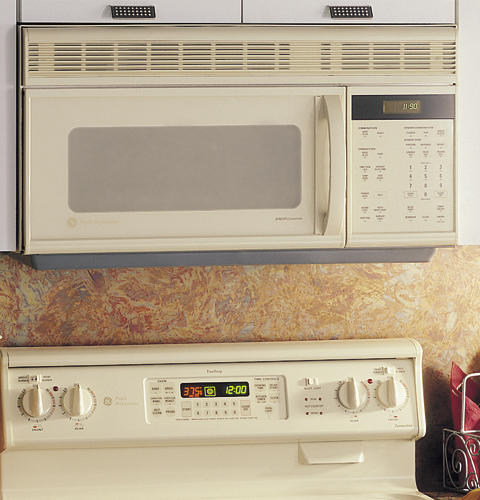 Ge Profile Emaker Oven With Convection Microwave Cooking And Outside Venting Jvm1190ay Liances
