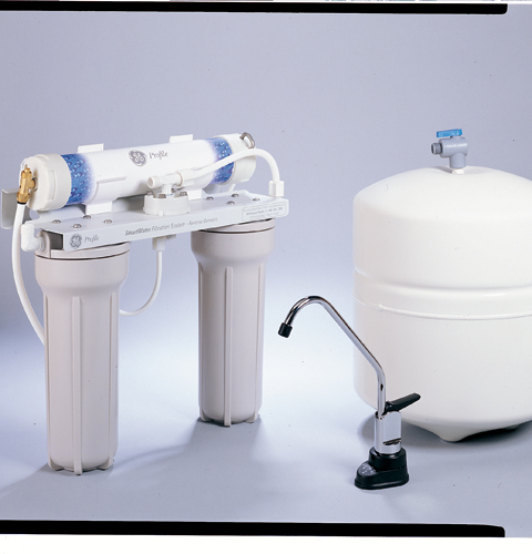 Ge Profile Reverse Osmosis Filtration System With 12
