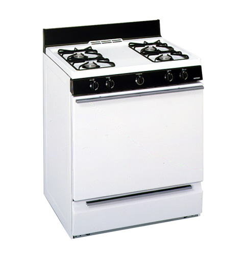 Hotpoint 174 30 Quot Free Standing Gas Range Rgb508ppawh Ge