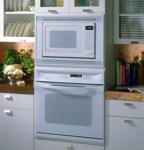 ... capacity countertop microwave oven JX1827SB - stainless trim kit shown
