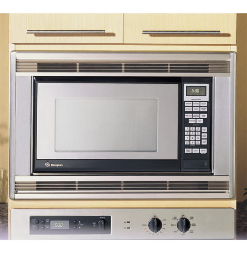 Ze1660sa Ge Monogram Stainless Steel Countertop Microwave Oven Liances