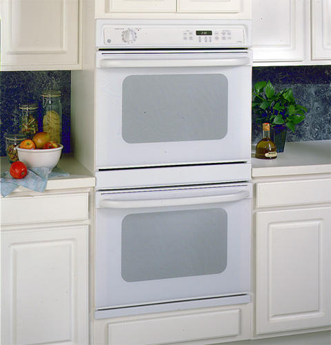 Ge 30 Double Wall Oven With Self Cleaning Upper And Standard Clean Lower