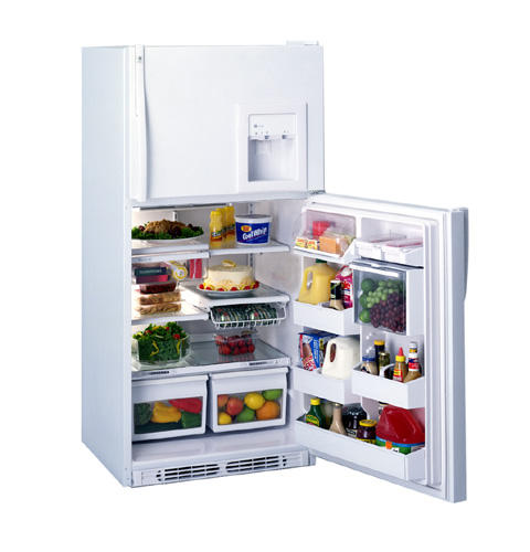 GE Profile™ 21.5 Cu. Ft. Top-Mount No-Frost Refrigerator with Dispenser