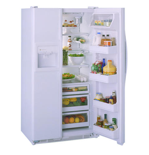 GE Profile Performance™ 23.5 Cu. Ft. CustomStyle™ Side-By-Side Refrigerator