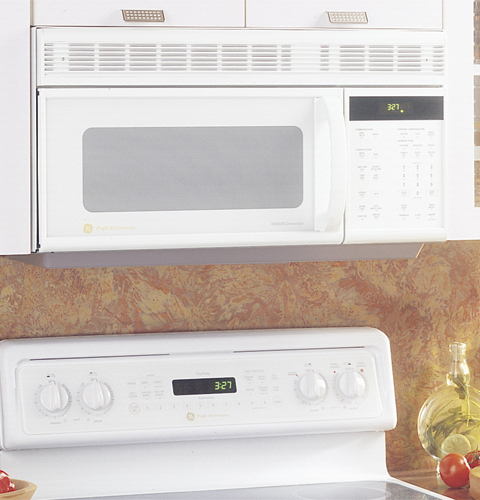 GE Profile SpacemakerPlus® Microwave/Convection Oven w/ Sensor Cooking Controls