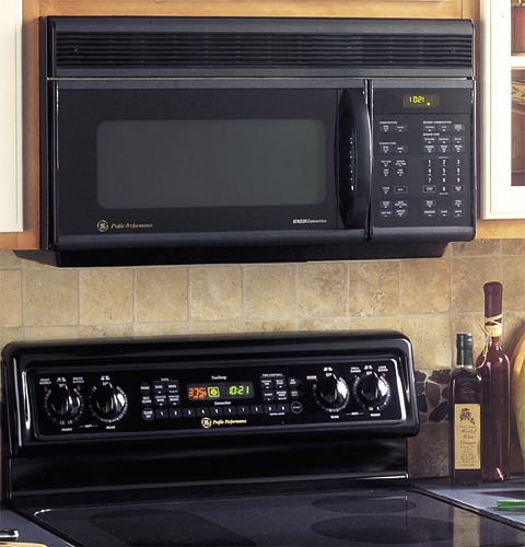 Ge Profile Spacemaker 174 Oven With Convection Microwave