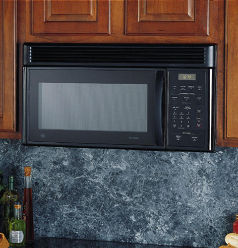 Ge Emaker Over The Range Microwave Oven With Recirculating Vent