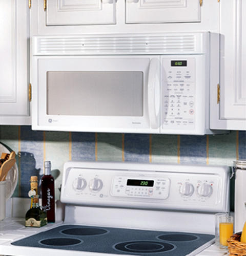 GE Profile™ 1.6 Cu. Ft. Spacemaker® XL1600 Over-the-Range Non-Vented Microwave Oven