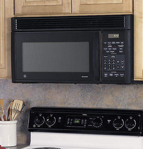 Ge 1 6 Cu Ft Emaker Xl1600 Over The Range Microwave Oven