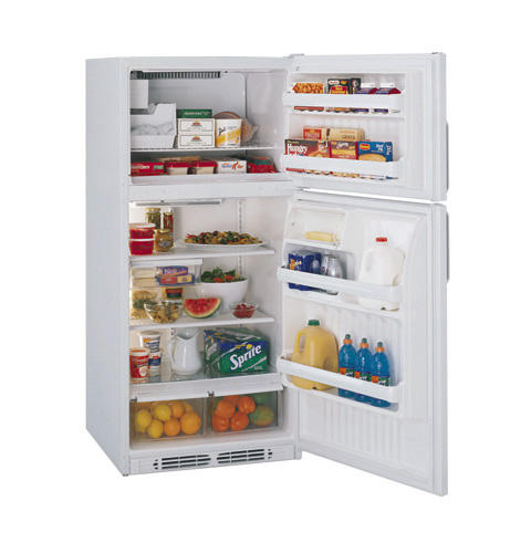 Hotpoint® 18.2 Cubic Foot Capacity Top-Freezer Refrigerator with Icemaker