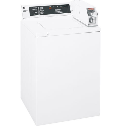 GE® 2.7 Cu. Ft. Extra-Large Capacity Coin-Operated Washer