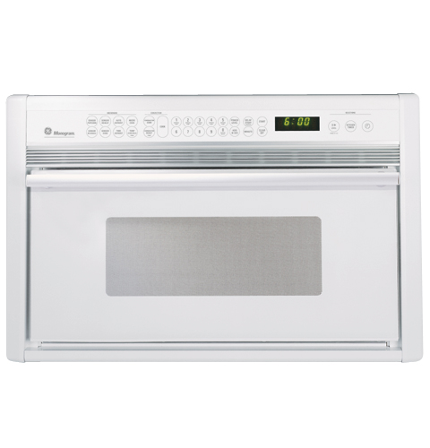 Ge Monogram 174 White Built In Microwave Convection Oven